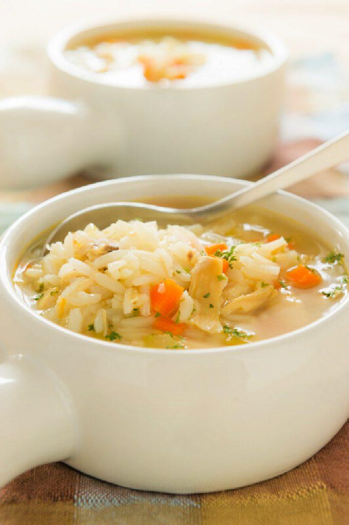Crock-Pot Chicken & Rice Soup