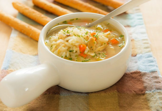 Crock-Pot Chicken & Rice Soup