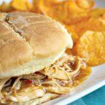 Crock-Pot Honey BBQ Chicken Sandwiches