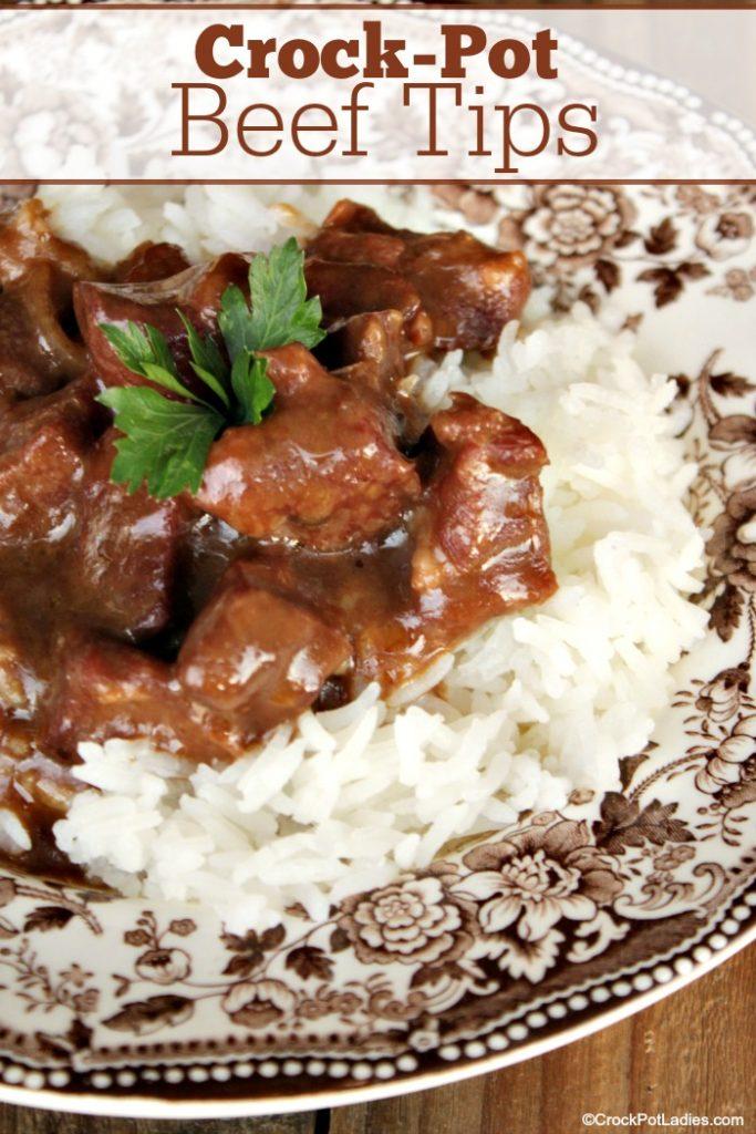 Crock-Pot Beef Tips