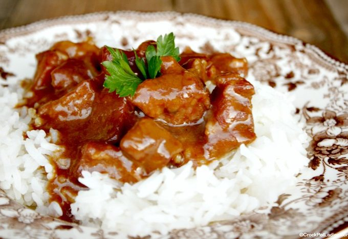 Crock-Pot Beef Tips