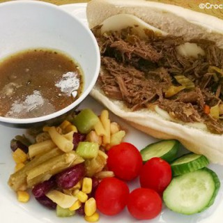 Crock-Pot Homemade Italian Beef