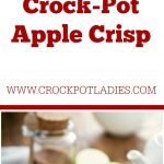 Crock-Pot Apple Crisp