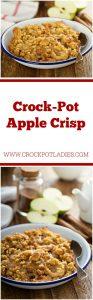 Crock-Pot Apple Crisp