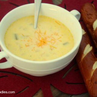 Crock-Pot Cheddar Beer Soup