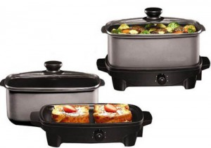 Crock-Pot Lovers Holiday Gift Guide: 5 Quart Slow Cooker and Griddle