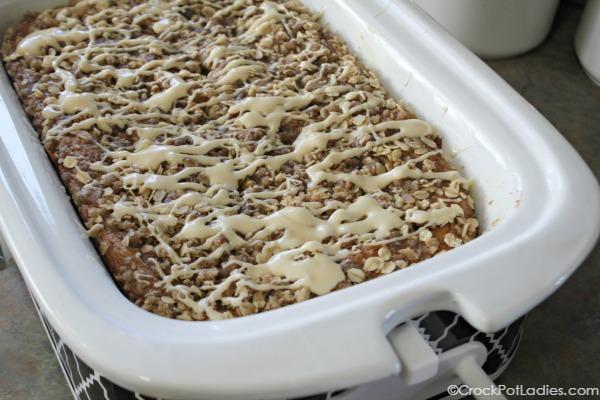 Crock-Pot Pumpkin Coffee Cake