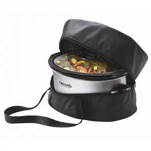 Crock-Pot Lovers Holiday Gift Guide: Crock-Pot SCBAG Travel Bag for 7-Quart Slow Cookers, Black