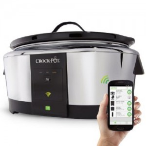 Crock-Pot Lovers Holiday Gift Guide: Crock-Pot Smart Wifi-Enabled WeMo 6-Quart Slow Cooker, SCCPWM600-V1