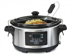Crock-Pot Lovers Holiday Gift Guide: Hamilton Beach 33969A Set 'n Forget Programmable Slow Cooker 6-Quart
