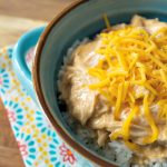Crock-Pot Creamy Salsa Chicken