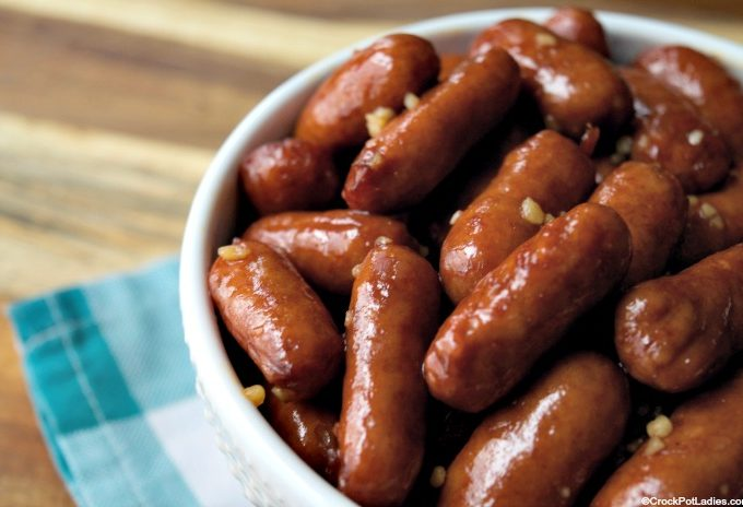 Crock-Pot Honey Garlic Lil' Smokies