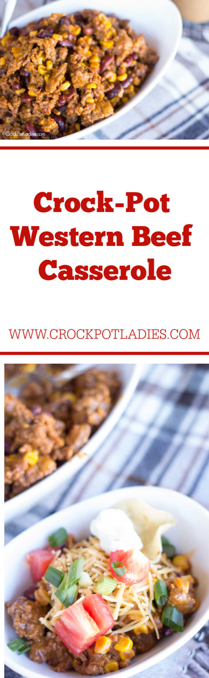 Crock-Pot Western Beef Casserole