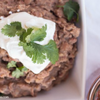 Crock-Pot Refried Beans