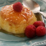 Crock-Pot Caramel Flan Recipe - Craving a little something creamy and sweet? This delectable recipe for Crock-Pot Caramel Flan will surely fit the bill. Creamy vanilla custard is cooked inside ramekins with a homemade caramel sauce for a sweet slow cooker dessert! | via CrockPotLadies.com