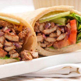 Crock-Pot Chicken Shawarma