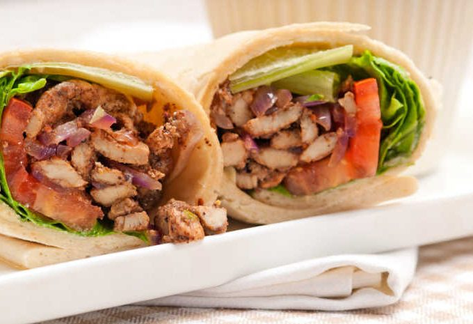 Crock-Pot Chicken Shawarma
