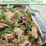 Crock-Pot Southwestern Fiesta Chicken Wraps