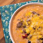 Crock-Pot Creamy Southwest Taco Soup