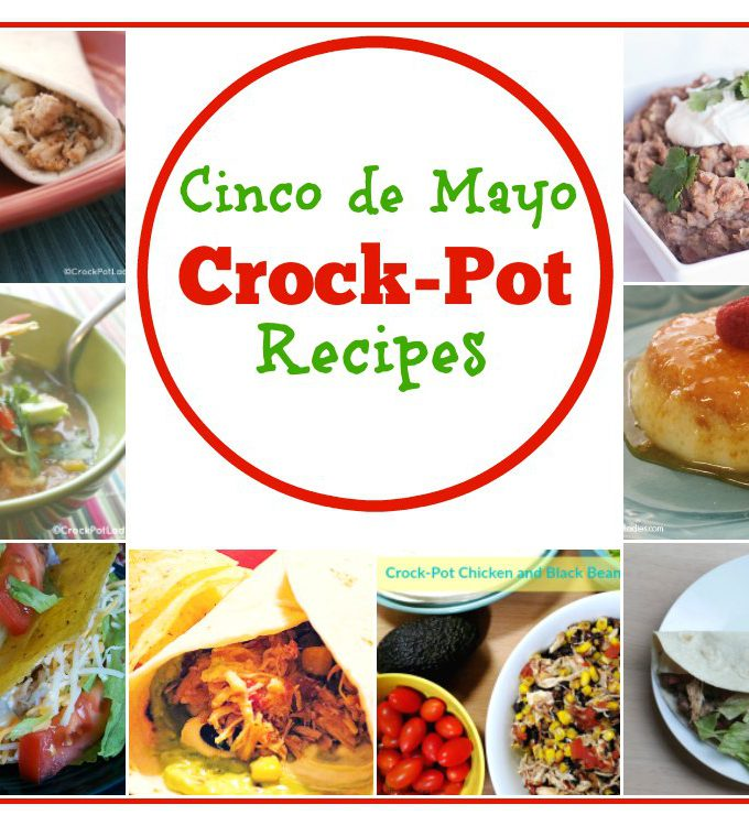 Cinco de Mayo Crock-Pot Recipes - A collection of over 40 mouthwatering slow cooker recipes that you can make for your next fiesta! | CrockPotLadies.com