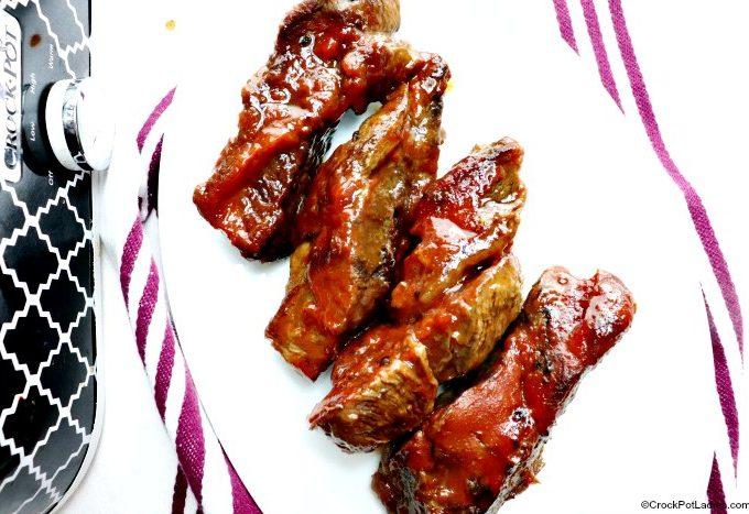 BBQ Boneless Beef Ribs