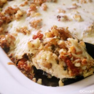 Crock-Pot Chicken Brushetta Bake