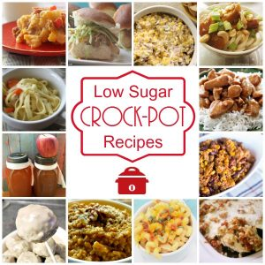 Low Sugar Crock-Pot Recipes - Over 100 low sugar crock-pot recipes each containing under 10 grams of sugar or less. Everything from desserts, soups, entrees and more that are low sugar! via @CrockPotLadies