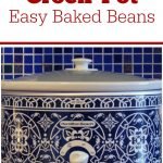 Crock-Pot Easy Baked Beans