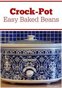 Crock-Pot Easy Baked Beans