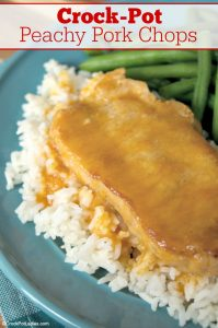 Crock-Pot Peachy Pork Chops