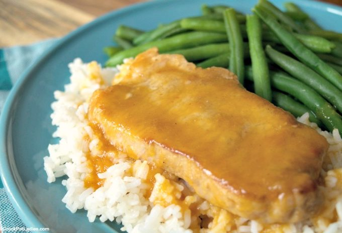 Crock-Pot Peachy Pork Chops