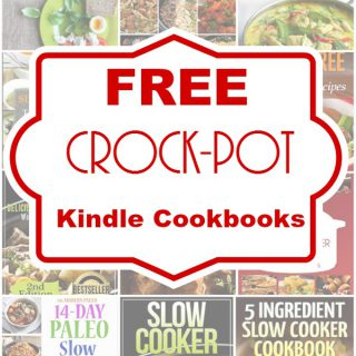 3 Free Crock-Pot Kindle Cookbooks!