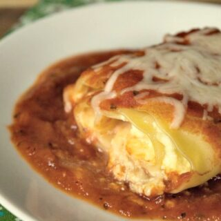 Crock-Pot Lasagna Ricotta Rolls