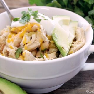 Crock-Pot White Bean Chicken Chili