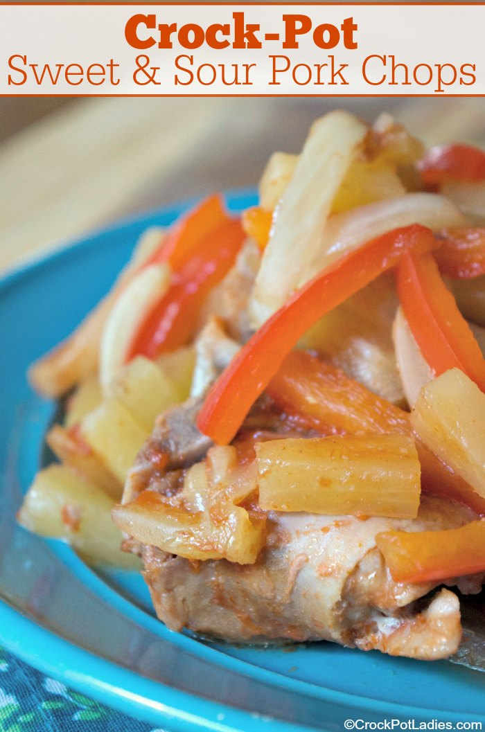 Crock-Pot Sweet & Sour Pork Chops