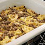 Crock-Pot Waffle and Sausage Casserole