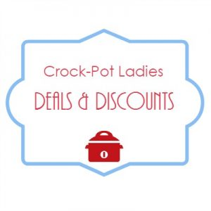 Everyone loves a discount and that is why we have put together a few of our favorite deals and coupon codes to help you save money on our own Crock-Pot Ladies products as well as products and services from merchants we love!
