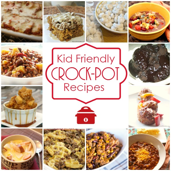 Kid Friendly Crock-Pot Recipes - The whole family will be happy with this collection of over 300 kid friendly crock-pot recipes. From dinners to desserts, snacks to breakfast you are sure to find a recipe to feed even the pickiest of taste buds. [collection from CrockPotLadies.com]