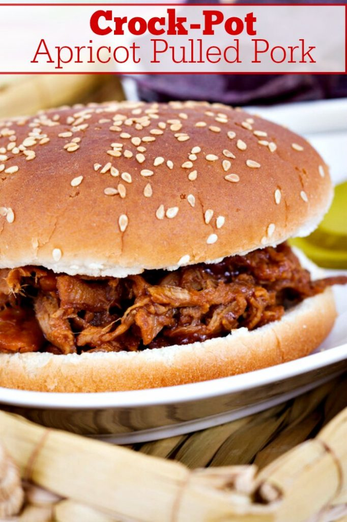 Crock-Pot Apricot Pulled Pork