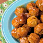 Crock-Pot Honey Buffalo Meatballs