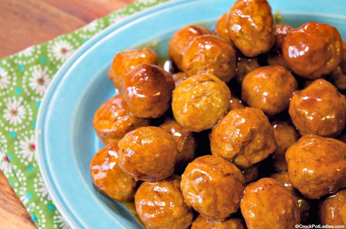 Crock-Pot Honey Buffalo Meatballs