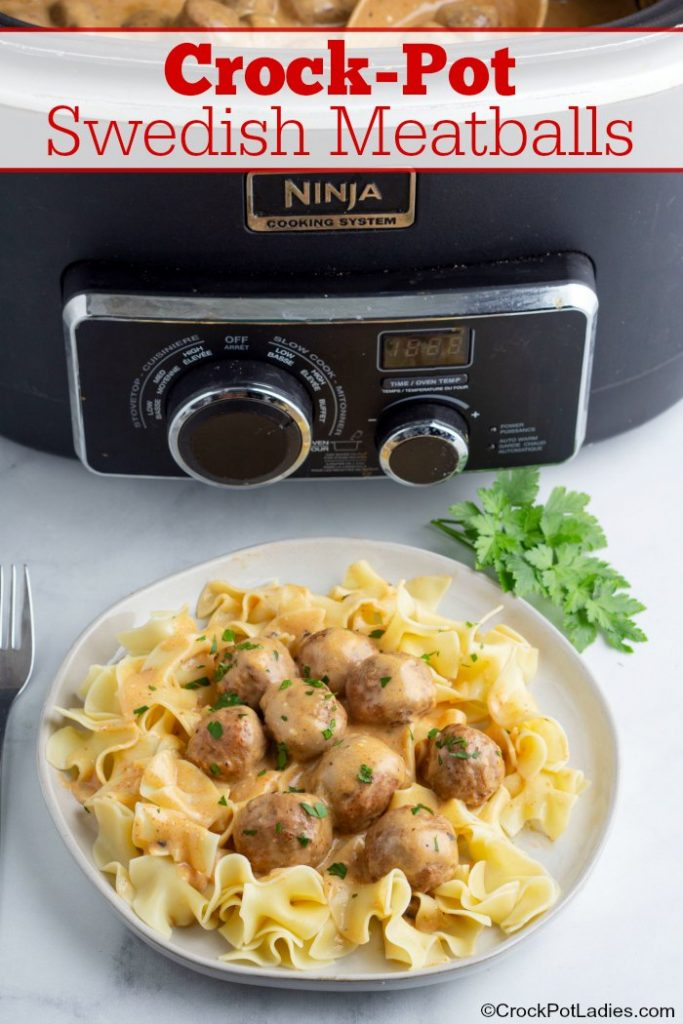 Crock-Pot Swedish Meatballs