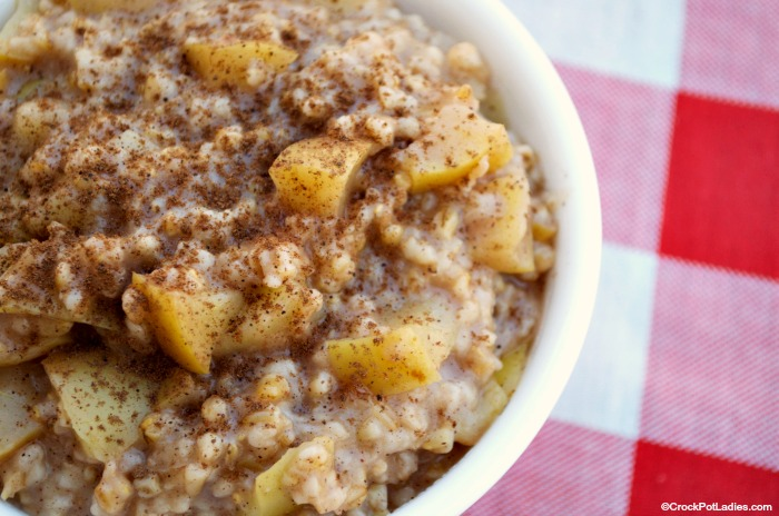 Crock-Pot Apple Pie Oatmeal