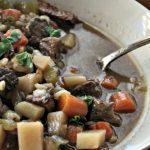 Crock-Pot Beef Barley Stew