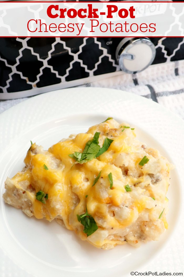 Crock-Pot Cheesy Potatoes