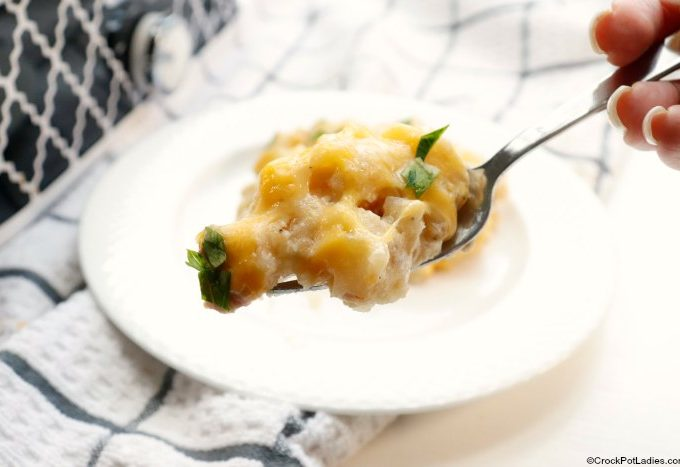 Crock-Pot Cheesy Potatoes