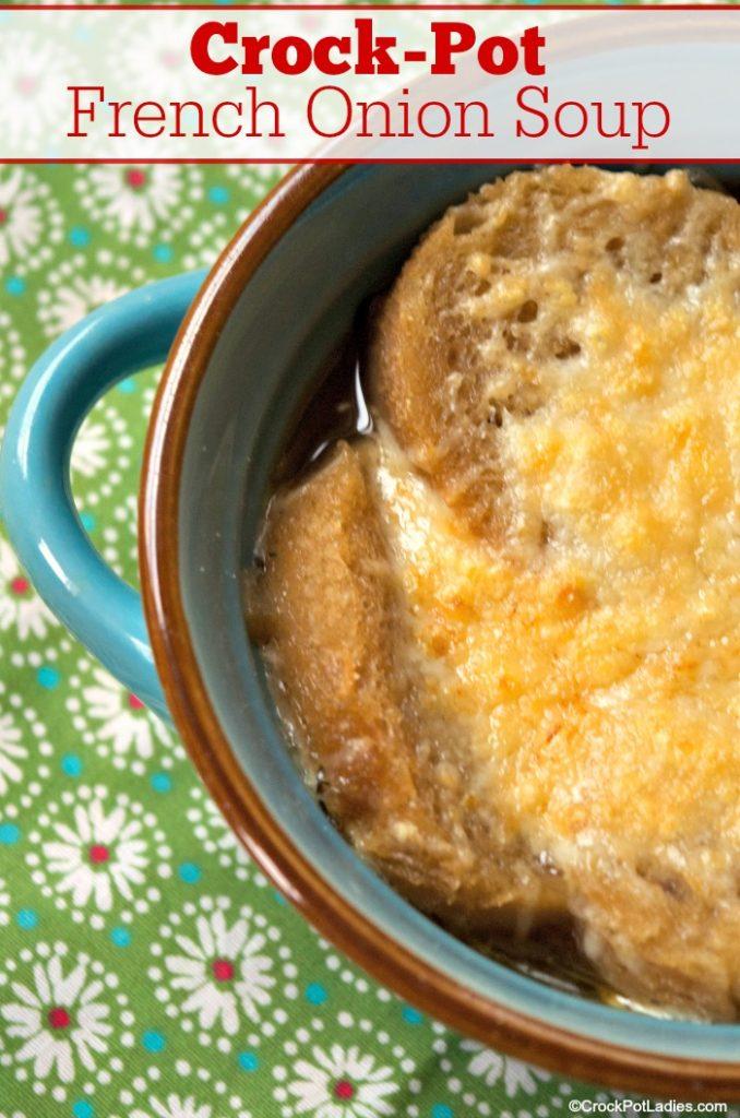 Crock-Pot French Onion Soup