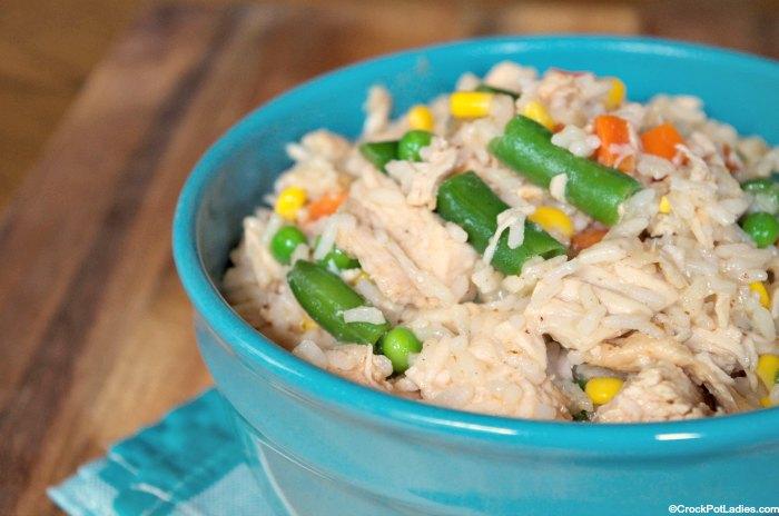 Crock-Pot Turkey Roast with Rice
