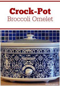 Crock-Pot Broccoli Omelet