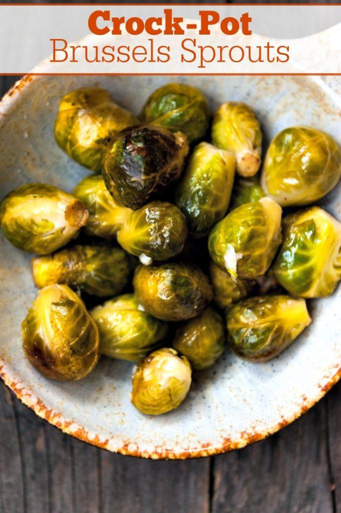 Crock-Pot Brussels Sprouts